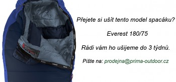Spacák PRIMA EVEREST 180